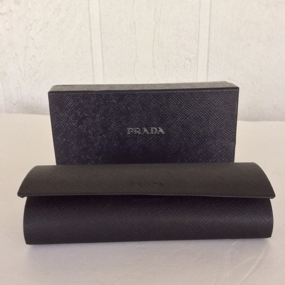 bc86fd8ad44c PRADA SUNGLASSES OR EYEGLASS CASE AND BOX. M 5c24c74312cd4a201dc352b1.  Other Accessories ...